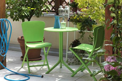 Colourful Outdoor 3 Piece Setting